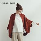特降【MOSS CLUB】冬季保暖緹花造型-針織衫(二色)