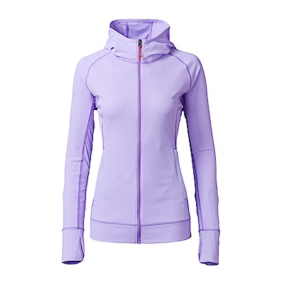 【HAKERS】女款  抗UV透氣外套(薰衣草紫)