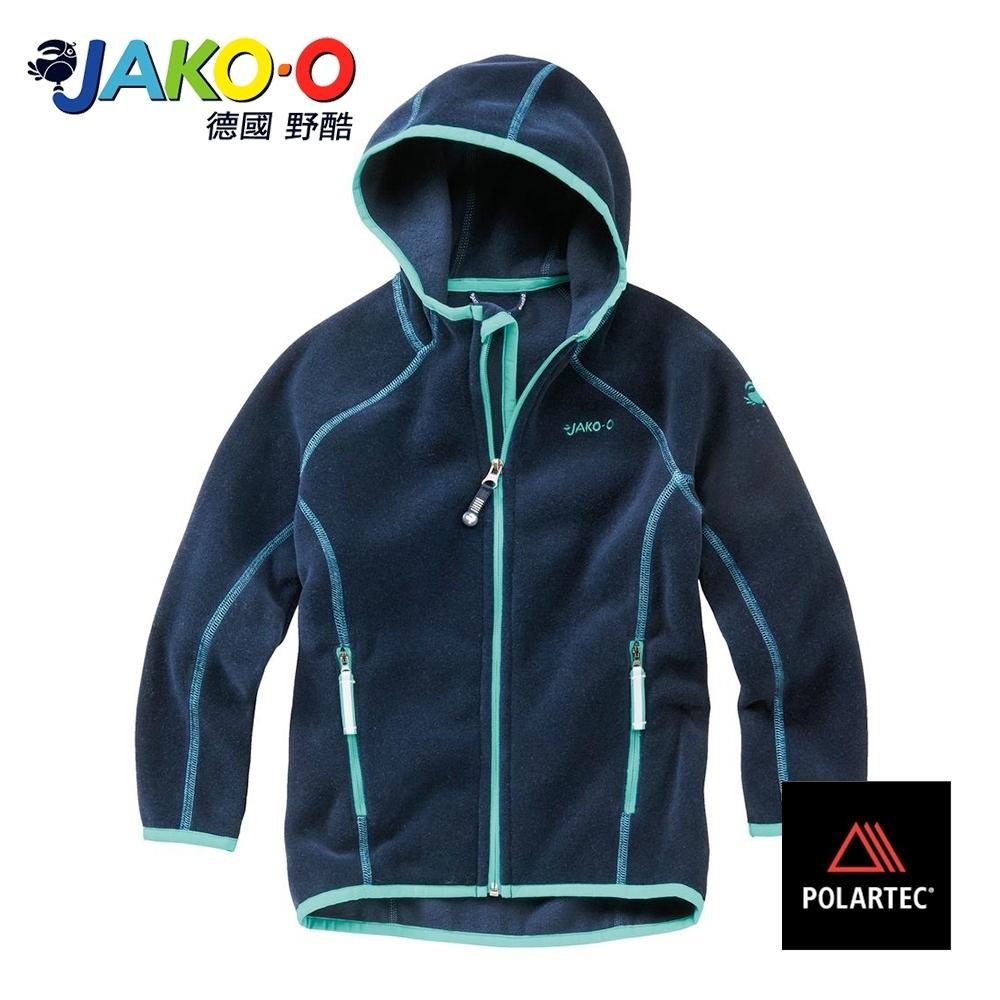 JAKO-O德國野酷-POLARTEC連帽外套-海軍藍 保暖 耐寒