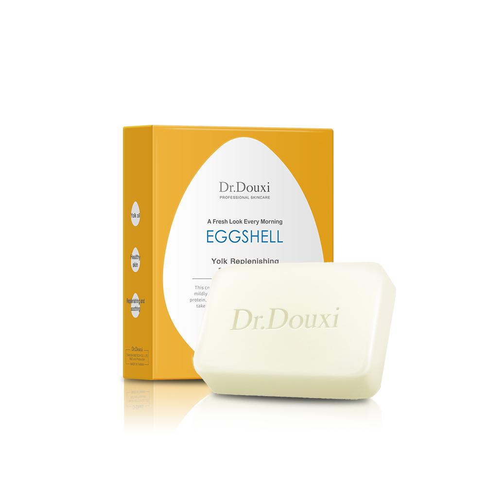 Dr.Douxi朵璽 蛋黃修護卵殼皂 100g 蛋黃皂