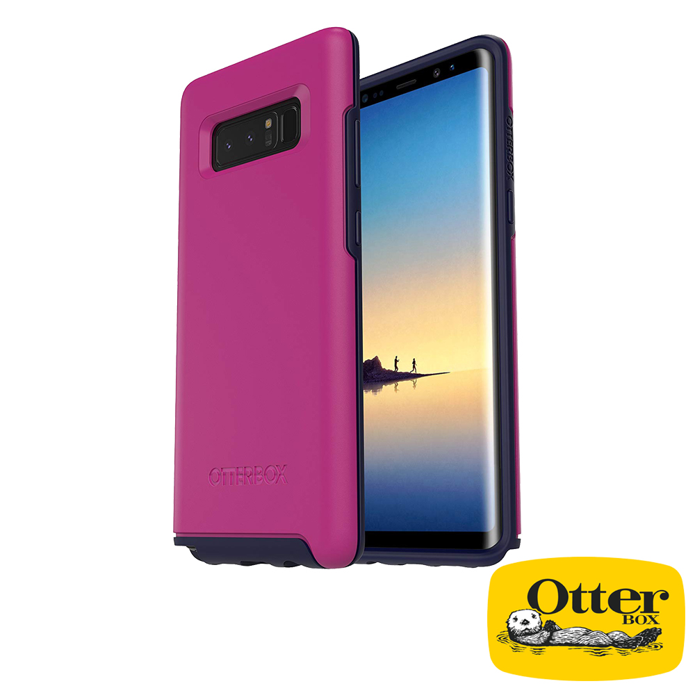 OtterBox Galaxy Note8炫彩幾何系列保護殼-日本紫