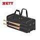 ZETT 拉桿式滾輪裝備袋 黑 BAT-760 product thumbnail 1