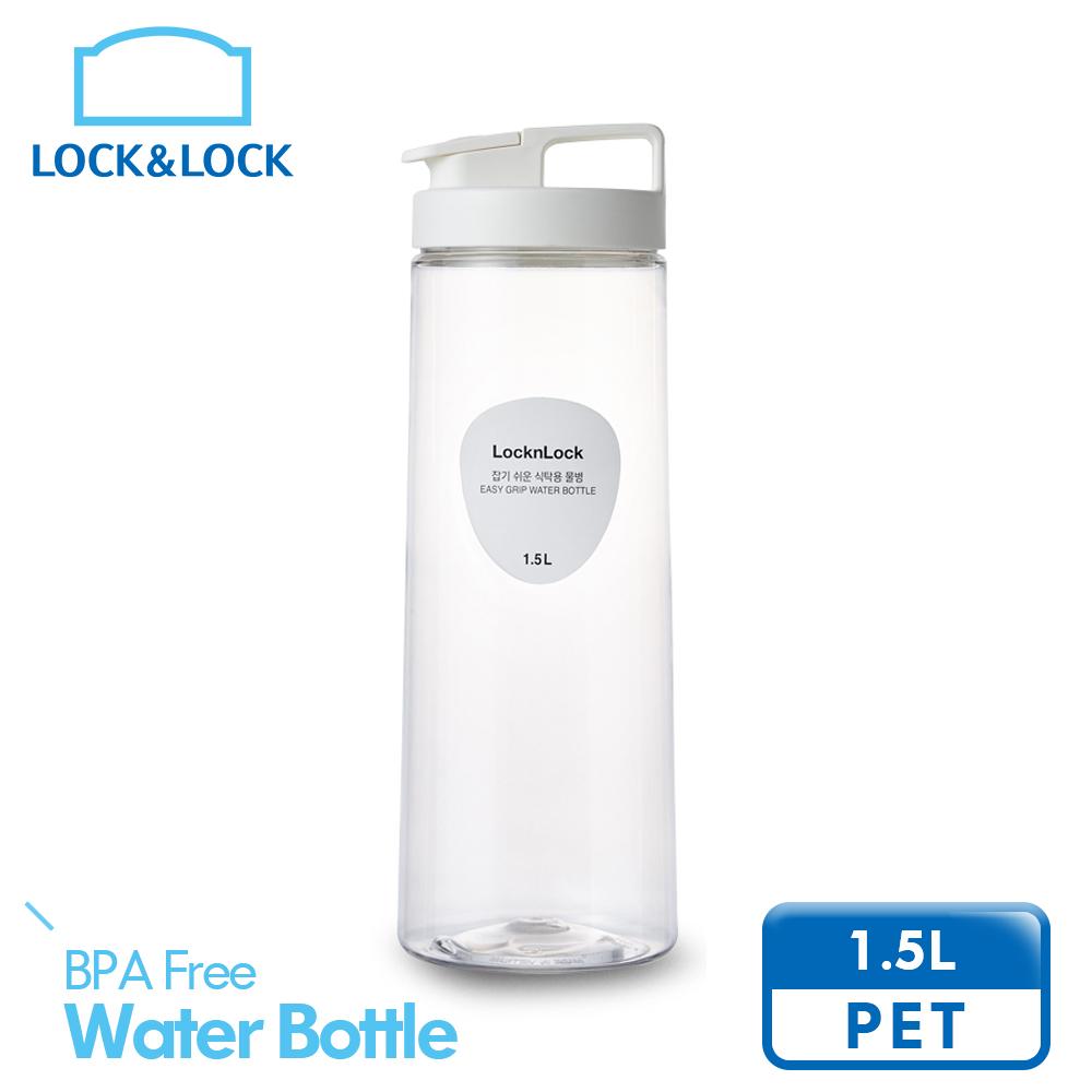樂扣樂扣輕鬆手提PET冷水壺1.5L-白(快)