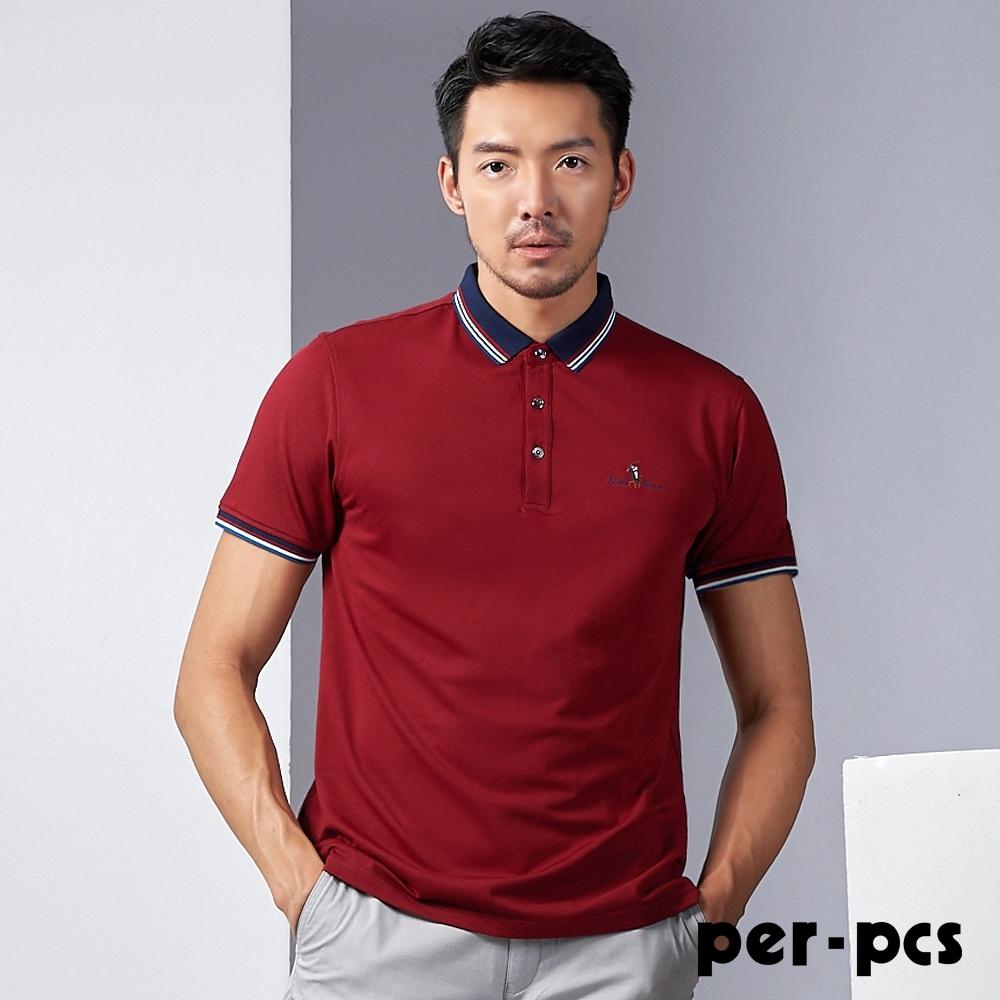 per-pcs 簡潔俐落設計POLO衫_719527