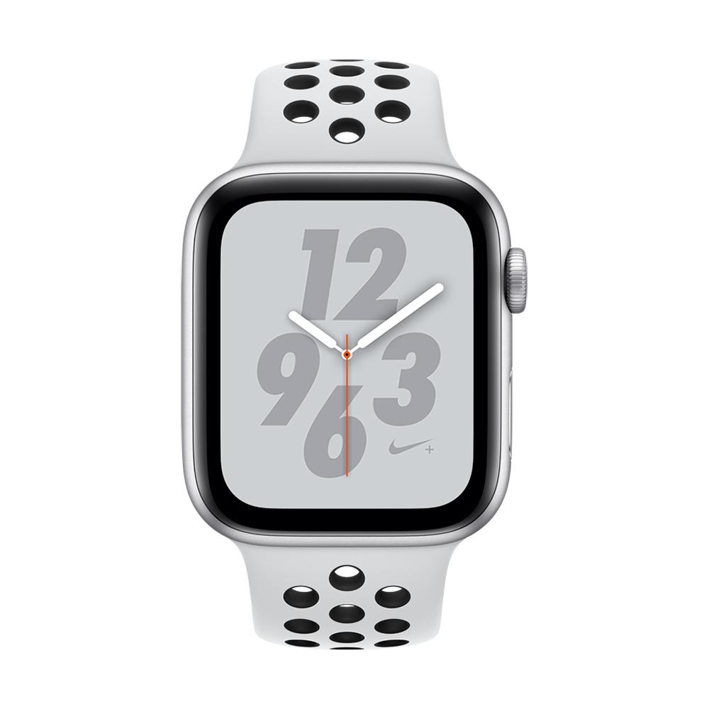 Apple Watch Nike+ S4(GPS)44mm 銀色鋁金屬錶殼+白色錶帶 @ Y!購物