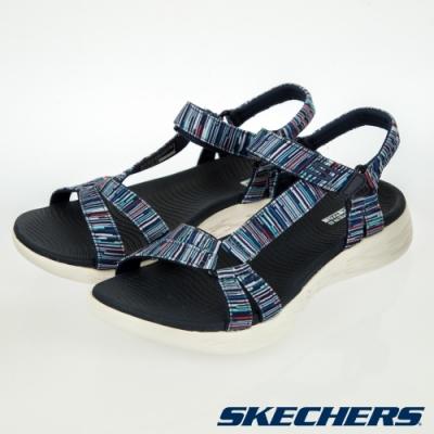 SKECHERS  女健走系列涼鞋 ON THE GO 600-140013NVMT
