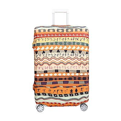 高彈性行李箱套 適用26-29吋 -非洲大地