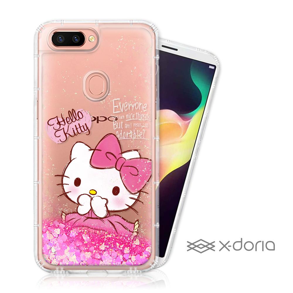 Hello Kitty OPPO R15 亮片流沙手機軟殼 - 俏皮 @ Y!購物