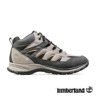 Timberland 男款黑灰色麂皮健行鞋
