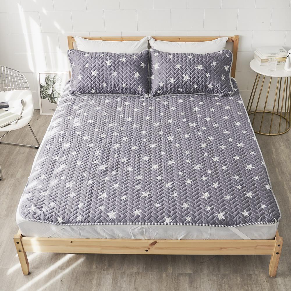 Adorar  TENCEL天絲可水洗軟涼蓆+涼枕墊三件組-雙人(星夜望月)