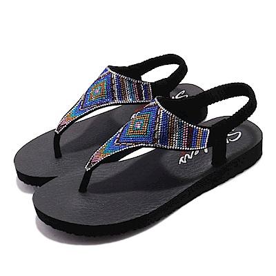 Skechers 涼鞋 Meditation-Gypsy 水鑽 女鞋