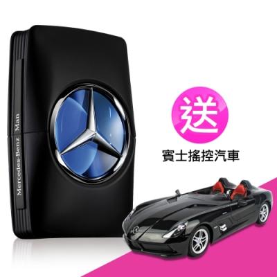 Mercedes Benz賓士王者之星男性淡香水100ml-送賓士搖控汽車