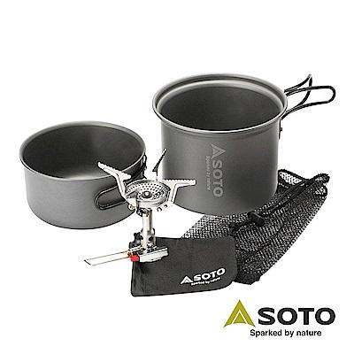 SOTO 攻頂登山爐組SOD-320CC