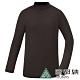 【ATUNAS 歐都納】男熱流立領保暖貼身長袖內著衣/發熱衣A1UCAA02M咖啡 product thumbnail 1