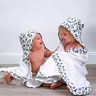 美國 Bebe Au Lait 純棉造型嬰幼兒浴巾/保暖毯(小熊貓)