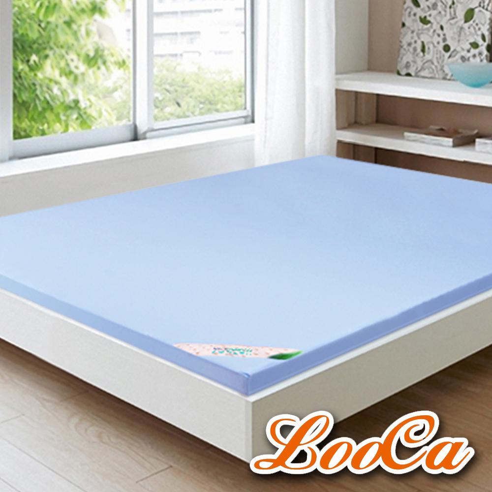 (618限定)LooCa美國抗菌七段式無重力乳膠床墊-加大6尺
