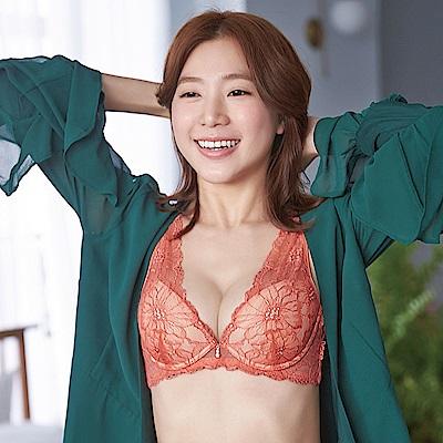 蕾黛絲-頂級香頌真水 D罩杯內衣(摩登暖橘)