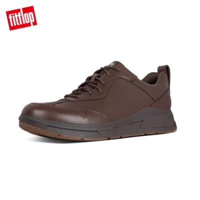 FitFlop ARKEN SNEAKERS 運動風繫帶休閒鞋 巧克力棕
