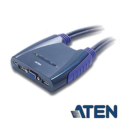 ATEN 4埠 USB KVM 切換器(CS64US)