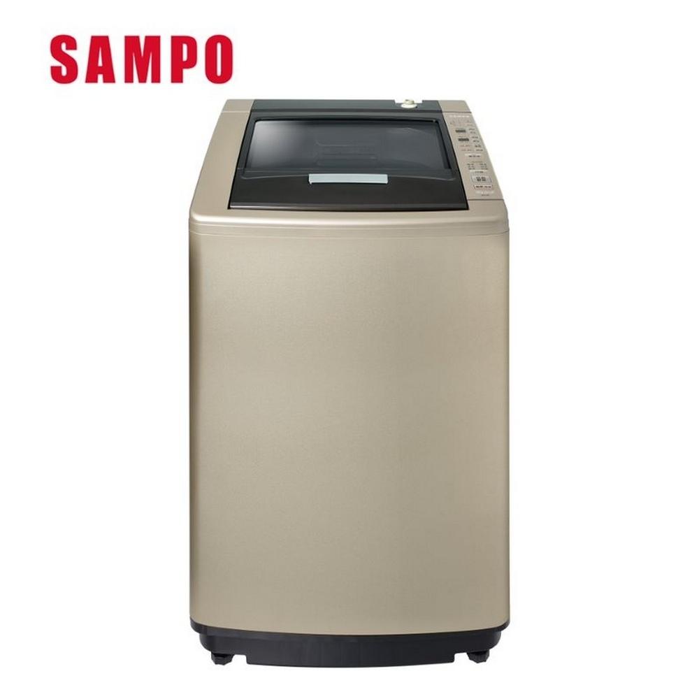 SAMPO 聲寶18KG 單槽定頻洗衣機 ES-L18V(Y1)香檳金