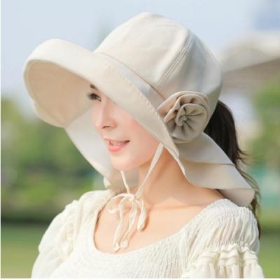 I.Dear-日本UPF500機能防曬雙層護頸遮陽布帽(2色)