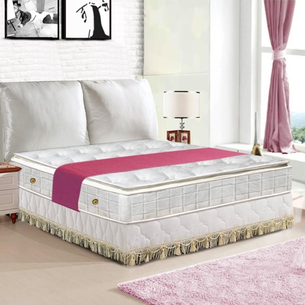 布萊迪 Brady  優眠五段式正三線乳膠獨立筒床墊-雙人加大6尺