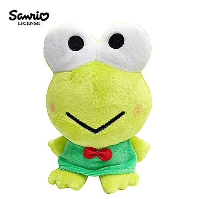 日本正版大眼蛙三麗鷗豆豆絨毛玩偶拍照玩偶Sanrio 006166