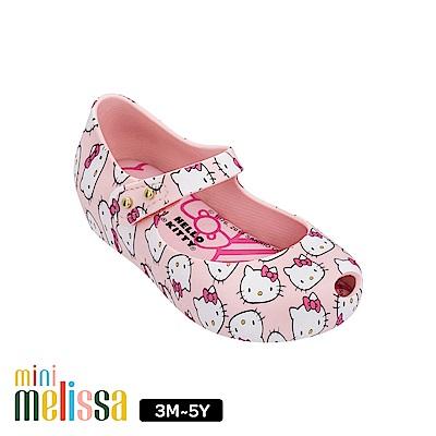 Melissa Hello Kitty國際聯名款娃娃鞋(寶寶款)-粉