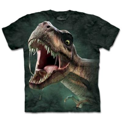摩達客-美國The Mountain 暴龍吼 兒童版純棉環保短袖T恤