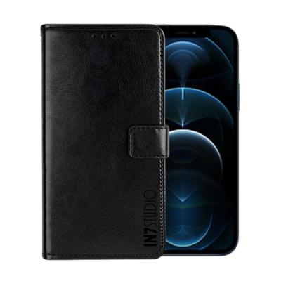 IN7 瘋馬紋 iPhone 12 Pro (6.1吋) 錢包式 磁扣側掀PU皮套 吊飾孔 手機皮套保護殼