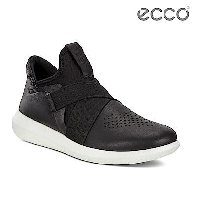 ECCO SCINAPSE MEN S 潮流襪套緩震運動鞋 男-黑