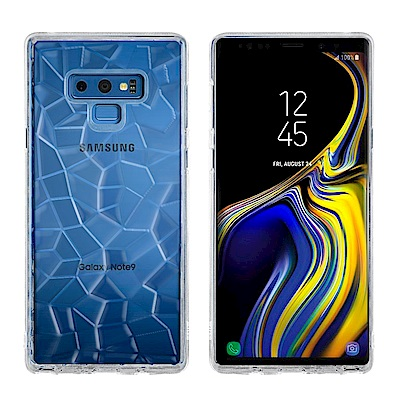 Metal-Slim SAMSUNG Galaxy Note 9 3D鑽石透明T...