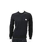 KENZO Tiger 虎頭刺繡黑色針織衫(男款)