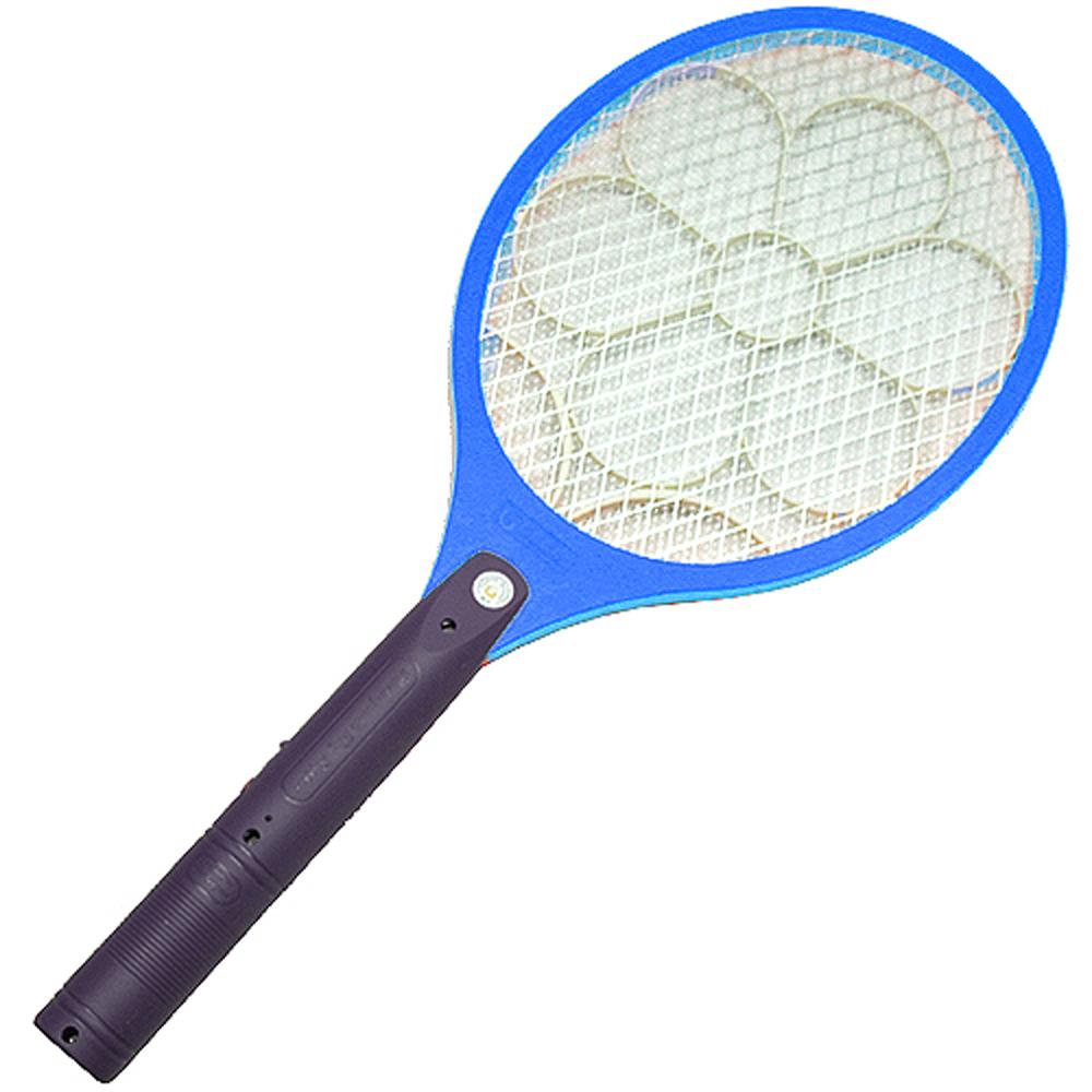 月陽充電式大網面細目網孔3層捕蚊拍(55893)