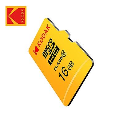 【Kodak】16GB MicroSD 記憶卡-無附轉卡 C10