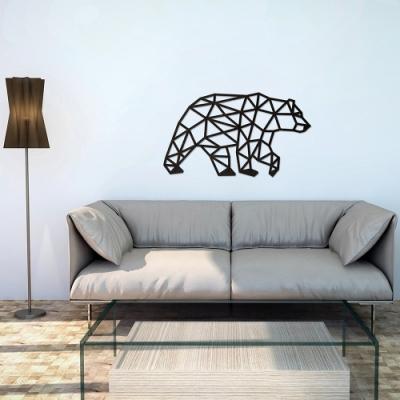 白俄羅斯 EWA 實木壁飾/北極熊