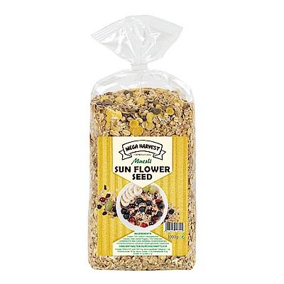Mega Harvest 向日葵籽穀片(1kg)x2袋裝