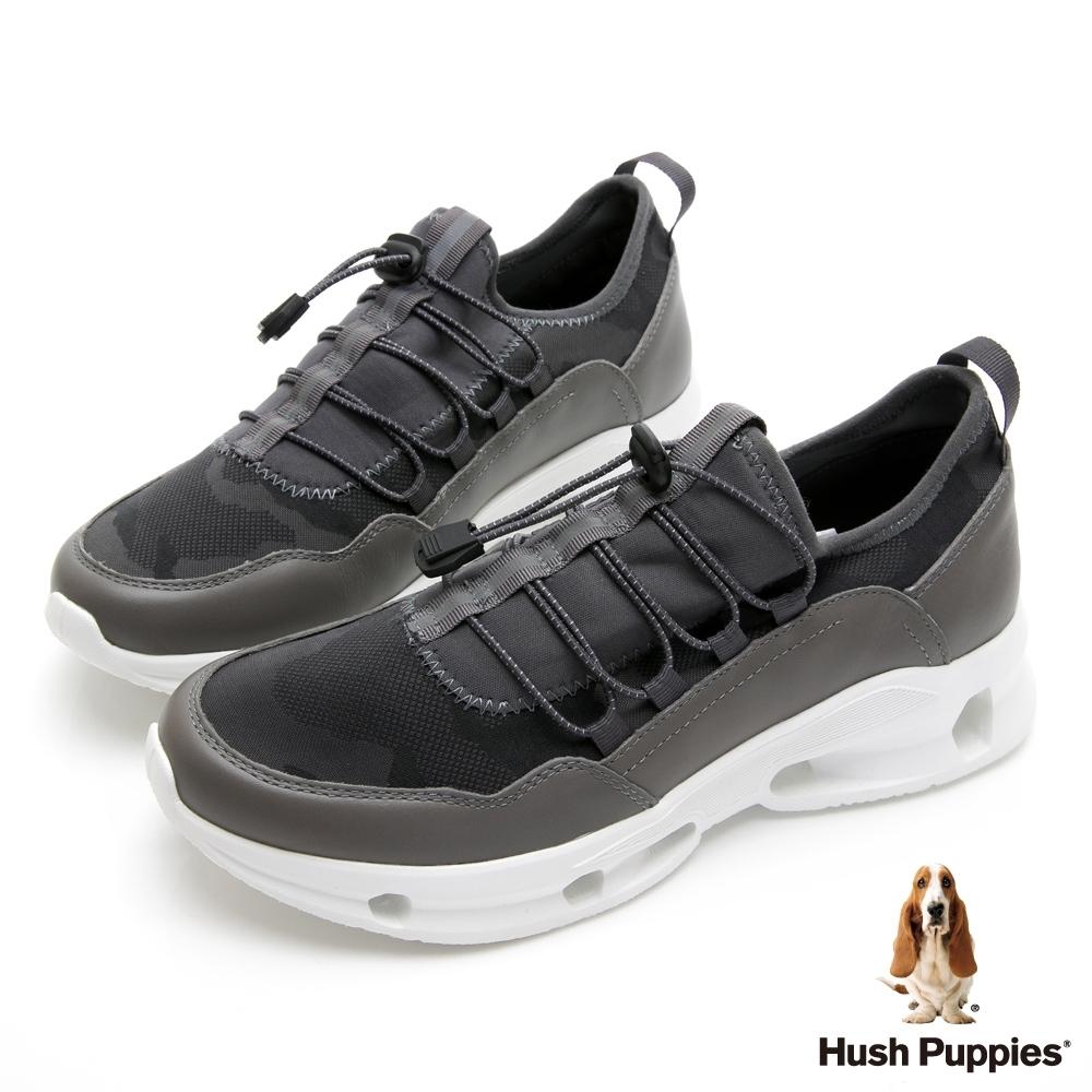 Hush Puppies 都市機能健走男鞋-灰色