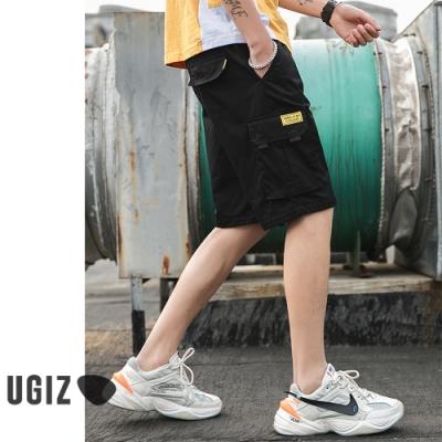 [時時樂]UGIZ-個性休閒水洗棉短褲-3款任選(M-3XL)