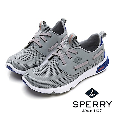 SPERRY 7SEAS亮眼撞色休閒機能鞋(中性款)-灰