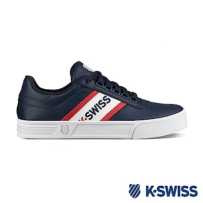 K-Swiss Court Lite Spellout S休閒運動鞋-男-藍