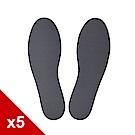 糊塗鞋匠 優質鞋材 C22 台灣製造 2mm娃娃鞋乳膠墊 (5雙)