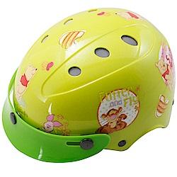 花維尼自行車兒童可調整式安全帽-黃色