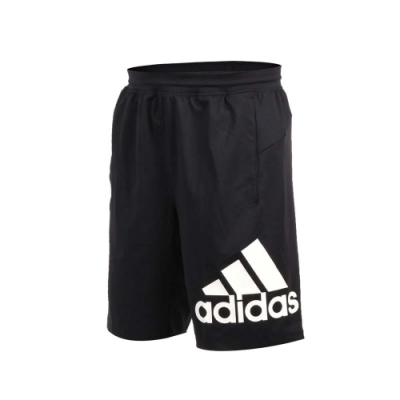 ADIDAS 男 運動短褲 黑白