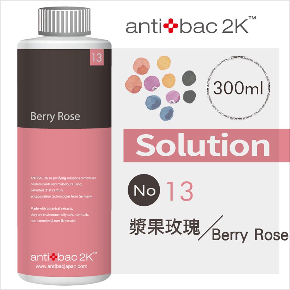 安體百克antibac2K 300ml 空氣淨化液SOLUTION SL13 漿果玫瑰