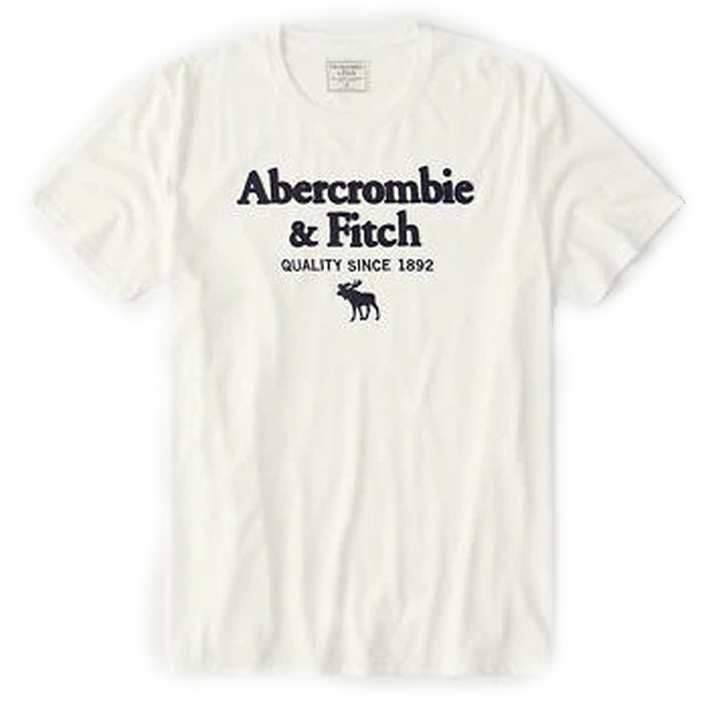 AF a&f Abercrombie & Fitch 短袖 T恤 白色 1468