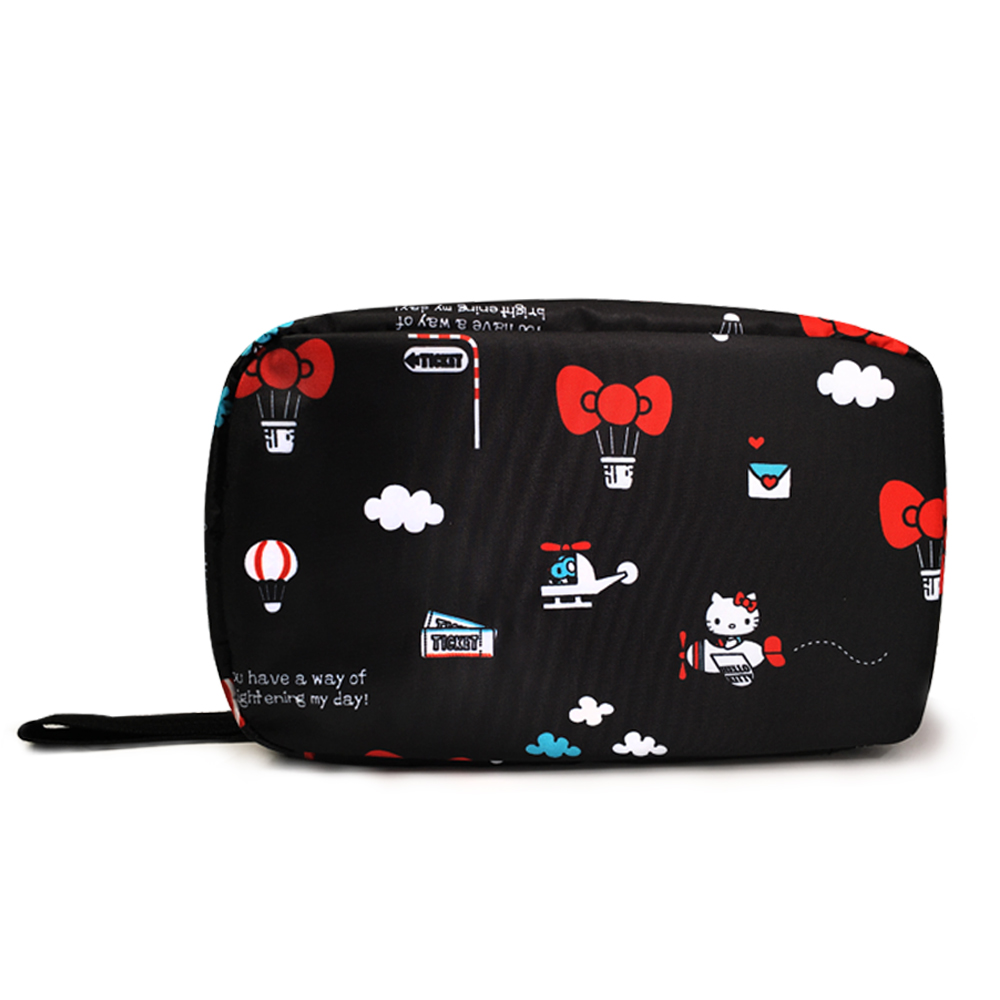 murmur旅行收納三摺盥洗包Hello Kitty 熱氣球