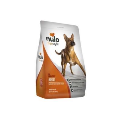 NULO紐樂芙-無穀高肉量全能犬-低敏火雞+藍莓 24lb (10.9kg)