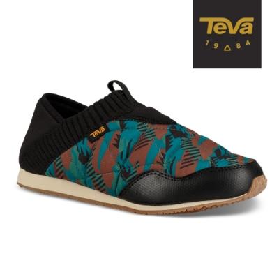 TEVA 女 Ember Moc 菠蘿麵包鞋-美國大峽谷 GC100湖水藍