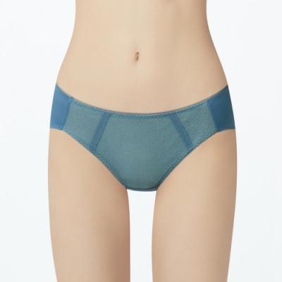 瑪登瑪朵 身呼吸 低腰三角內褲(結晶藍)